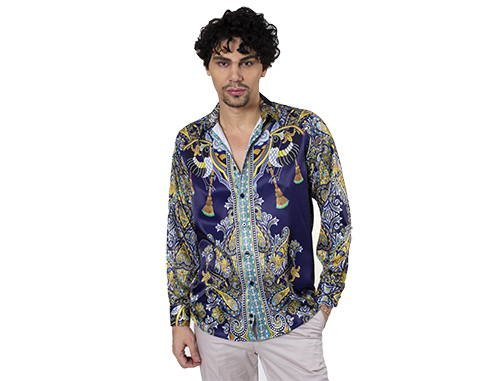 New Trend of Mens Satin Shirts