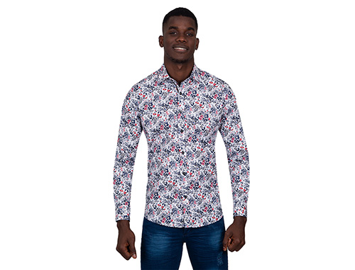Men's Printed Shirts Combine Types
