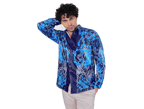 Luxury Feel of Mens Satin Shirts