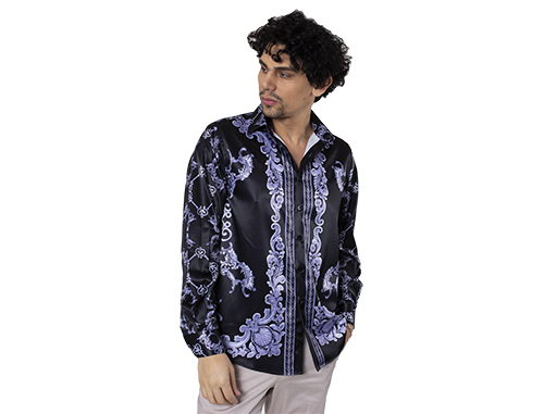 The Design Elegance Of Men's Satin Shirts