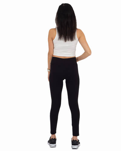 Black High Waist Leggings TY 001