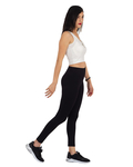 Black High Waist Leggings TY 001 - Thumbnail