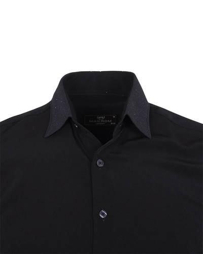 Fashion Mens Shirt with Silvery Details SL 6985