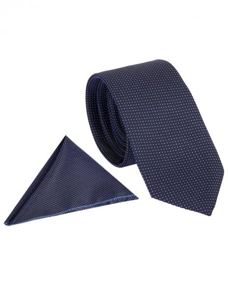 MAKROM - Checkered Design Premium Necktie KR 05 (Thumbnail - )