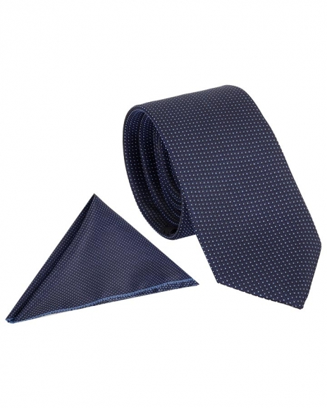 MAKROM - Checkered Design Premium Necktie KR 05 (Thumbnail - )