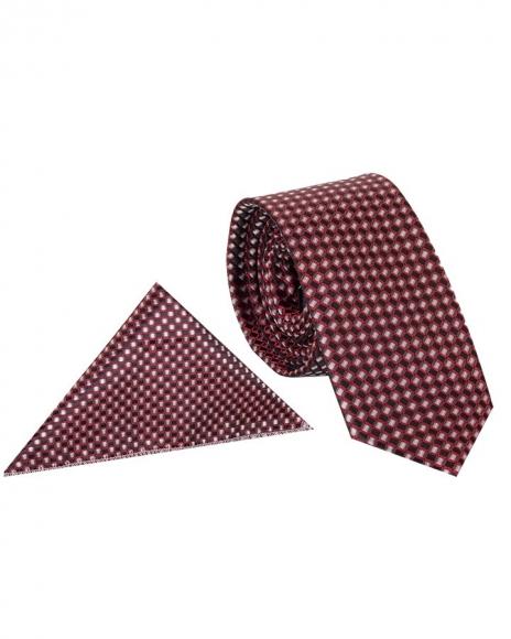 MAKROM - Diamond Design Quality Necktie KR 10 (Thumbnail - )