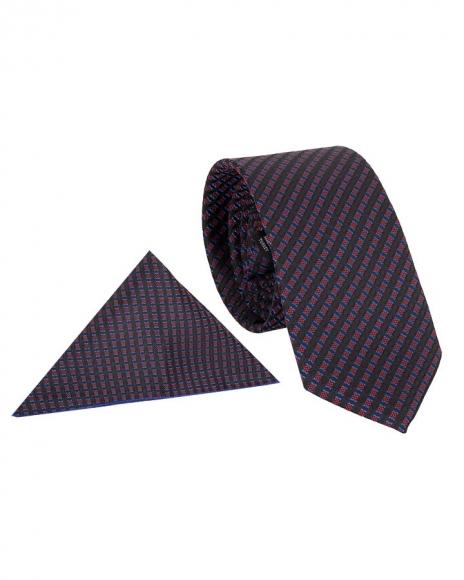 MAKROM - Diamond Textured Premium Necktie KR 17 (Thumbnail - )