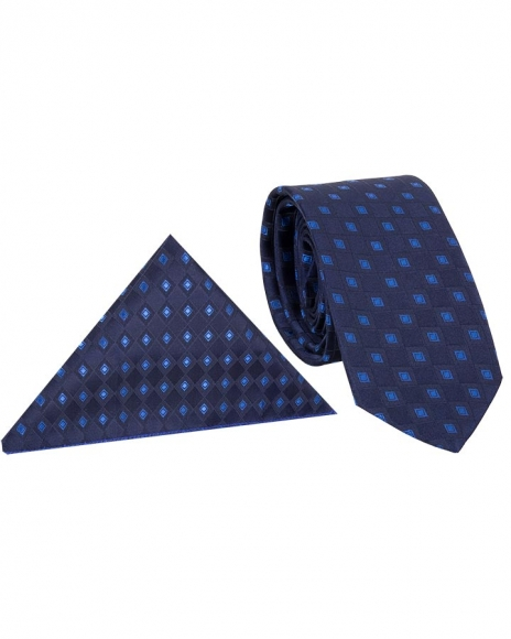 MAKROM - Diamond Textured Quality Necktie KR 16 (Thumbnail - )