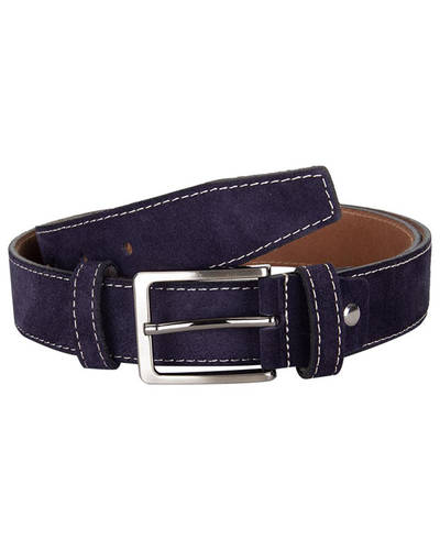 MAKROM - Double Ply Suede Leather Belt B 32