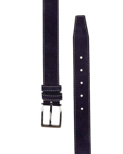 MAKROM - Double Ply Suede Leather Belt B 32 (1)