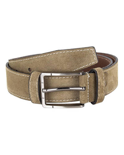 MAKROM - Double Ply Suede Leather Belt B 33