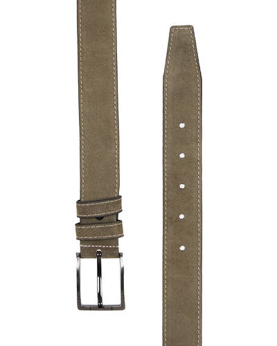 MAKROM - Double Ply Suede Leather Belt B 33 (1)
