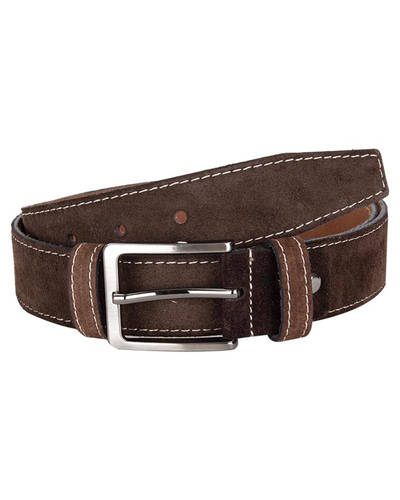 MAKROM - Double Ply Suede Leather Belt B 34