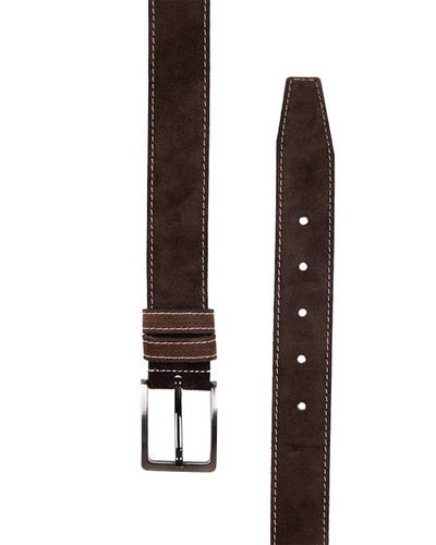 MAKROM - Double Ply Suede Leather Belt B 34 (1)