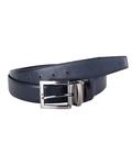 Double Sided Reversible Leather Belt B 23 - Thumbnail