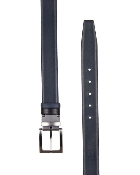 MAKROM - Double Sided Reversible Leather Belt B 23 (1)