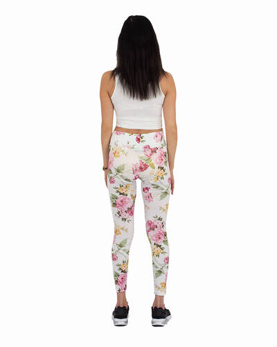 MAKROM - Flower Printed High Waist Leggings TY 002 (1)