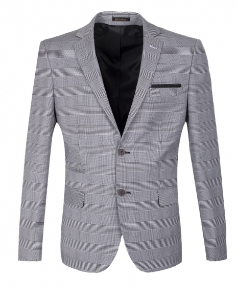 Oscar Banks - Checkhered Blazer J 149 (1)
