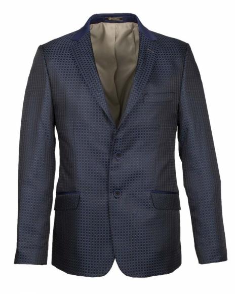 OSCAR BANKS - Blazer with Textured Fabric J 179