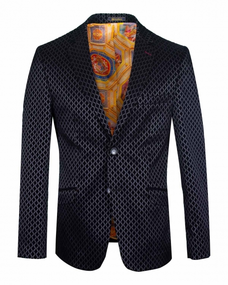 Blazer with Textured Fabric J 215