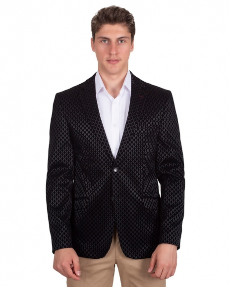 Oscar Banks - Blazer with Textured Fabric J 215 (1)