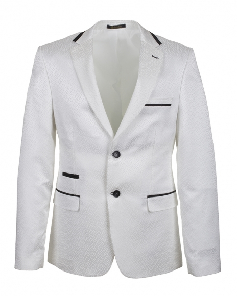 Oscar Banks - Quality Mens White blazer J 218