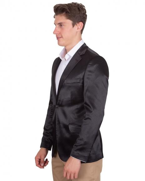 MAKROM - Polka Dot Textured Mens Blazer J 226 (1)