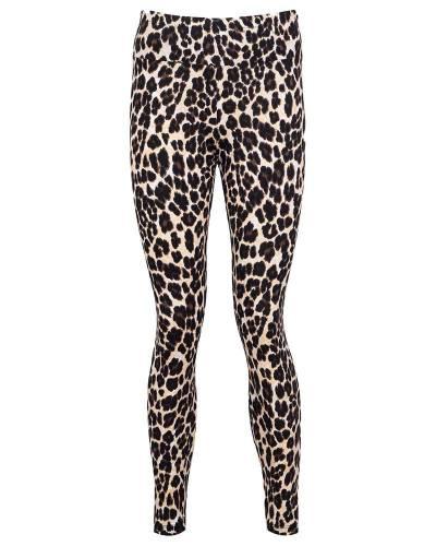 MAKROM - Leopard Printed High Waist Women Leggings TY 009