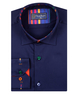 Long Sleeved Mens Shirt With Striped Details SL 6621 - Thumbnail