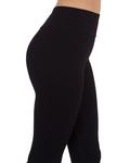 Luxury Black High Waist Leggings TY 001 - Thumbnail