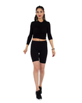 Luxury Black Standart Womens Leggings TY 006 - Thumbnail