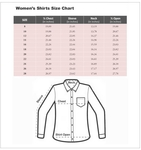 Luxury Check Printed Womens Shirt LL 3314 - Thumbnail