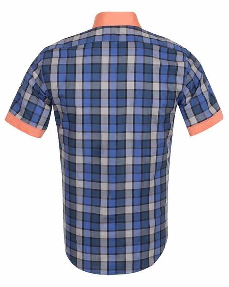 Luxury Check Short Sleeved Shirt SS 186