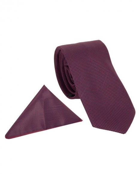 MAKROM - Luxury Checkered Design Premium Necktie KR 05 (Thumbnail - )