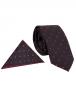 Luxury Circle Printed Quality Necktie KR 11 - Thumbnail