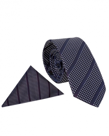 MAKROM - Luxury Diamond Design Business Necktie KR 09