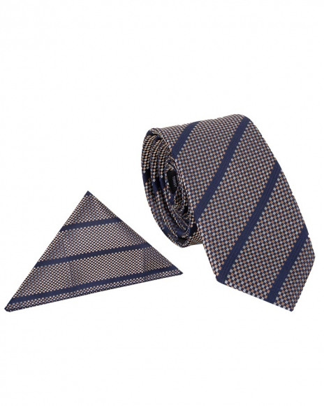 MAKROM - Luxury Diamond Design Business Necktie KR 09 (1)