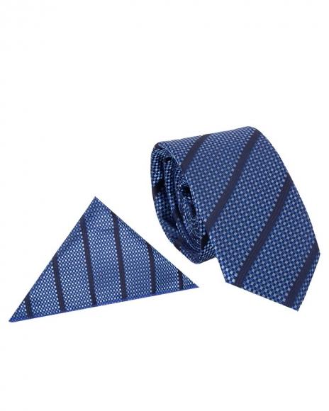 MAKROM - Luxury Diamond Design Business Necktie KR 09 (Thumbnail - )