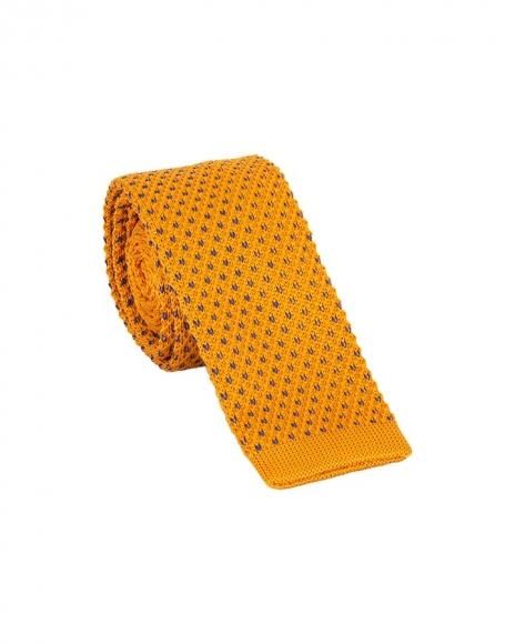 MAKROM - Luxury Diamond Design Knitted Necktie KR 22