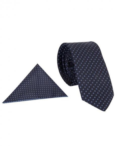 MAKROM - Luxury Diamond Textured Premium Necktie KR 17 (Thumbnail - )