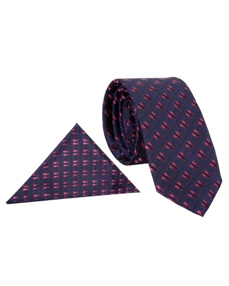 MAKROM - Luxury Double Line Printed Quality Necktie KR 15