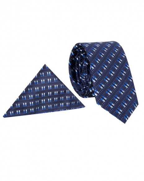 MAKROM - Luxury Double Line Printed Quality Necktie KR 15 (1)
