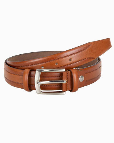 MAKROM - Luxury Double Ply Leather Belt B 25 (Thumbnail - )