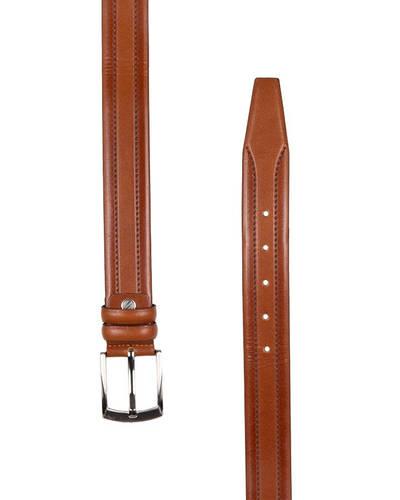 MAKROM - Luxury Double Ply Leather Belt B 25 (1)