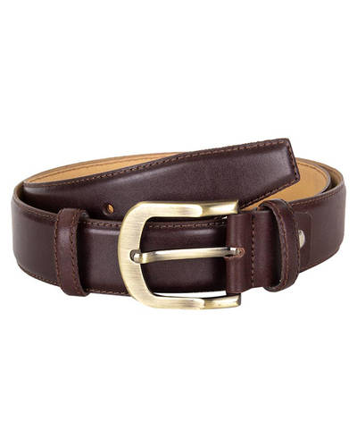 MAKROM - Luxury Double Ply Leather Belt B 27 (Thumbnail - )