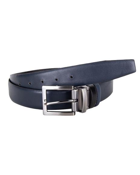 MAKROM - Luxury Double Sided Reversible Leather Belt B 23