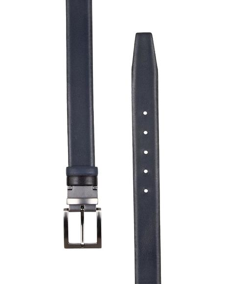 MAKROM - Luxury Double Sided Reversible Leather Belt B 23 (1)