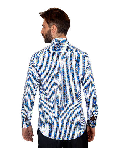 MAKROM - Luxury Floral Printed Mens Shirt SL 7085 (1)