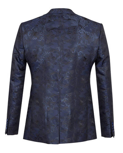 Oscar Banks - Luxury Floral Textured Mens Blazer J 278 (1)