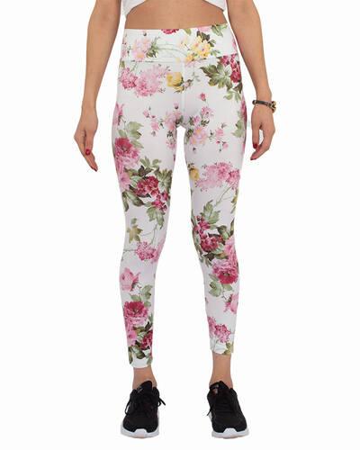 Luxury Flower Printed High Waist Leggings TY 002